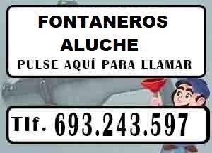 Fontaneros Aluche Madrid Urgentes